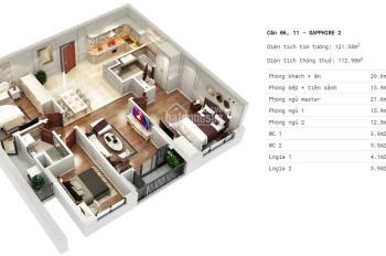 Bán căn hộ S2 Goldmark City nhận nhà ở ngay chỉ 3.09 tỷ, LH: 0969191230