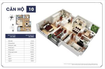 Bán căn hộ Goldmark City tòa S2 căn 09, 10, 11 3PN 2WC giá 28 tr/m2