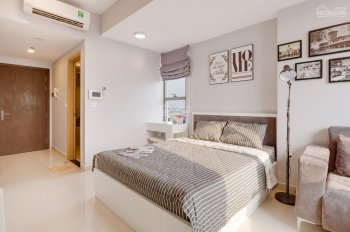 Cho thuê căn hộ studio River Gate Bến Vân Đồn, Quận 4 full nội thất giá 9 triệu/tháng LH 0908268880
