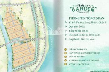 Đất nền biệt thự vườn 1000m2 Quận 9, giá chỉ từ 21tr/m2, LH: 0909811836