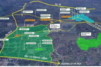 Bán đất Bình Yên - Thạch Thất - sổ đổ sẵn sang tên - giá chỉ hơn 500 triệu/lô