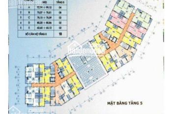 Bán Căn góc chung cư CT1 Thạch Bàn- Diện tích 93m2