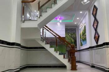 Bán căn nhà 2 lầu đẹp một sẹc Lê Văn Khương, hẻm 5m xe hơi, DT 4x14.5m, giá 4tỷ4, LH 0919147835