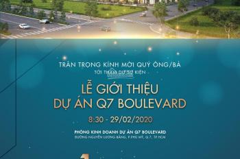 Căn hộ Q7 Boulevard ngay Phú Mỹ Hưng giá 1.9tỷ cuối năm nhận nhà CK 5%, nội thất Châu Âu 0968687800