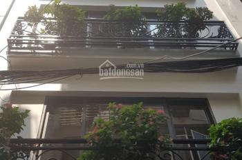 Cho thuê nhà riêng ngõ 33 phố Tạ Quang Bửu, nhà mới rất đẹp, 80m2 x 6 tầng, MT~8m, giá 32tr/th