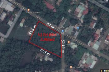 Trí BĐS đất vườn 3.303m2 mặt tiền gốc đường Trương Văn Đa ngay UBND xã Tân Nhựt, giá tốt