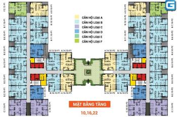 Saigon Avenue (2PN - 2WC) cần bán giá 1.7 tỷ DT 62m2 loại căn B tầng 10 vay bank. LH: 0931877334