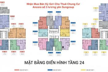 Bên em có 1 số căn hot giá rẻ cần bán gấp tại dự án Sun Grand City Ancora, Lương Yên, bán gấp