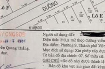 CHÍNH CHỦ Bán đất biệt thự 2 mặt tiền đường Ông ích Khiêm và đường Lê Thị Riêng (Đại An) phường 9