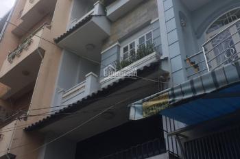 Cho thuê nhà 144/7 Vũ Tùng, gần chợ Bà Chiểu, Bình Thạnh. Diện tích ngang 4m dài 22m