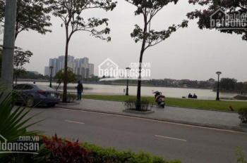Bán biệt thự 3 tầng lô góc mặt hồ KĐT Thành Phố Giao Lưu, 380m2, giá 185tr/m2