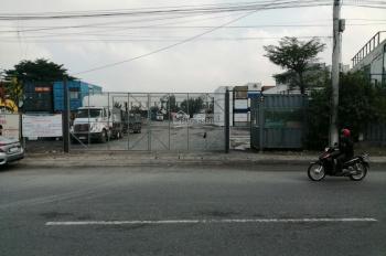 Bán mặt tiền 743 Mỹ Phước Tân Vạn, ngã ba Tân Vạn P. Bình An, thị xã Dĩ An. DT 10000m2 kho xưởng ok