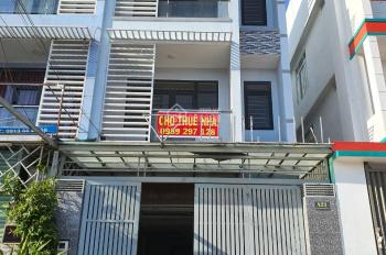 Cho thuê nhà mặt tiền đường Nguyễn Thị Búp, DT: 5x21m, 1 trệt 3 lầu. 25tr/tháng, SDT 0989297128