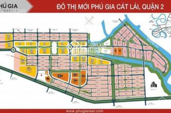 Bán đất sổ hồng cá nhân trong KDC 153ha Cát Lái Invesco, Q2 85m2, 100m2, 140m2, 160m2