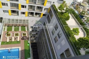 Cho thuê căn Studio 40m2 full nội thất mặt tiền Cao Thắng, P12, Q10. Giá 11 triệu/tháng