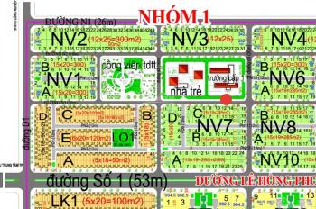 Bán 2 lô liền kề 285m2 đường 16m thuộc Nhóm 1 dự án HUD, giá 6,9 triệu/m2, 0972 880 800 (Tân)