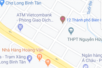 Bán nhà KP1, Phường Long Bình Tân, kế bên chợ, DT 100m2 sổ riêng