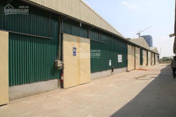 Chính chủ cho thuê kho xưởng khu vực nội thành Hà Nội, diện tích đa dạng từ 100m2 - 5000m2