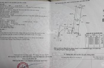 Bán nhà Tân Chánh Hiệp 33, DT 70m2, giá 2.47 tỷ, chính chủ, sổ hồng T3/2020, cách hẻm xe tải 10m