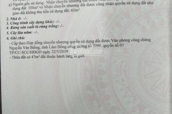 Chính chủ bán đất mặt tiền thành phố Bảo Lộc, Lâm Đồng