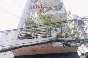 Hạ giá gấp 15tỷ còn 12.5tỷ nhà 2 mặt hẻm 6m thông nhau Kênh Tân Hoá.4x23m, đúc 5.5 tấm có thang máy