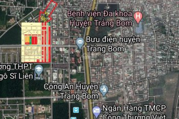Ngân hàng OCB hỗ trợ vay (60%) mùa dịch mua đất thị trấn Trảng Bom, LH: 0935099594