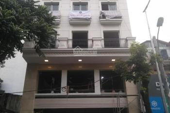 Bán tòa nhà căn hộ dịch vụ 110m2 x 5 tầng Nguyễn Chính, Hoàng Mai, Hà Nội nhà 3 mặt thoáng