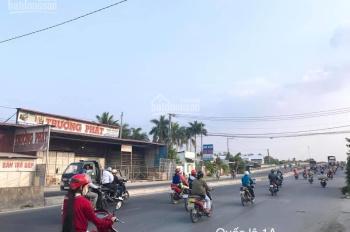 Bán đất góc lớn mặt tiền QL 1A và Nguyễn Thị Trâm, Cái Răng, Cần Thơ