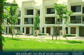 Bán 50 tr/m2 liền kề Hà Nội Garden City, đã có sổ, chỉ việc vào hoàn thiện, ưu đãi cao: 0966100509