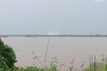 Bán nhà đất cồn nổi trên sông Tiền có cầu lớn bắt qua