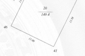 Chính chủ cần bán 150m2 đất phân lô đấu giá mặt tiền 13,58m Lê Văn Lương, Thanh Xuân