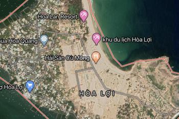 Đất nền sổ đỏ thổ cư 100% cạnh bãi tắm, khu du lịch Hoà Lợi, Sông Cầu, Phú Yên. Giá chỉ 6tr/m2