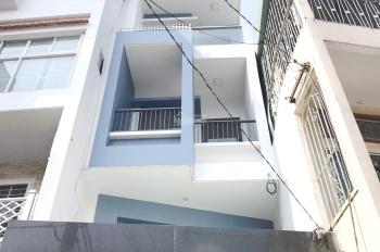 Cho thuê nhà mặt tiền Hưng Phú, phường 8, quận 8 + Diện tích: 3.3 x 19m + trệt, lửng, 3 lầu, ST
