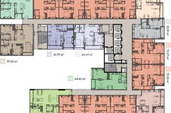 Bán căn 1PN 1WC Ascent Plaza tầng đẹp chốt nhanh, chênh lệch đẹp 20 triệu, LH 0903066950