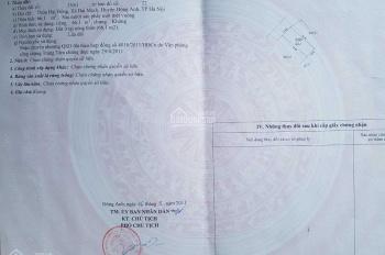 Chính chủ bán 66m2 đất thổ cư tại thôn Đại Đồng, xã Đại Mạch, huyện Đông Anh, HN. Nhỉnh 20 tr/m2