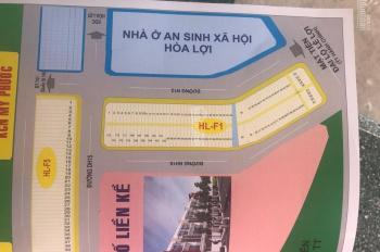 Bán lô gốc dự án F1 mặt tiền đường Lê Lợi, thành phố mới Bình Dương