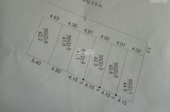 Bán 03 lô đất (giá đầu tư) tại Thụy Hà, Bắc Hồng gần chợ, trường học, đường Võ Nguyễn Giáp