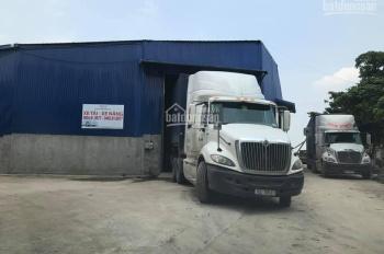 Chính chủ cho thuê kho, xưởng gần cầu Nhật Tân. DT 2000m2 (chia nhỏ từ 300m2), xe cont ra vào