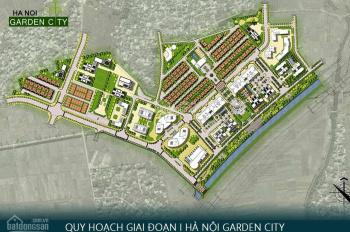 Bán 7.2 tỷ/lô liền kề Hà Nội Garden City, ở luôn, hoàn thiện mặt ngoài, đã có sổ: 0966 100 509
