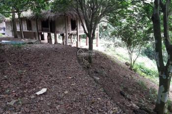 Bán gấp 1600m2 đất thổ cư có ao, có nhà sàn, thích hợp nghỉ dưỡng cuối tuần tại Lương Sơn Hòa Bình.
