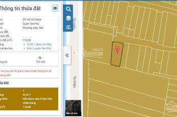 Chỉ 3.7 tỷ, cơ hội sở hữu nhà DT 60m2, trung tâm Q. Tân Phú. LH 078 773 6588 Nhã Tuyền