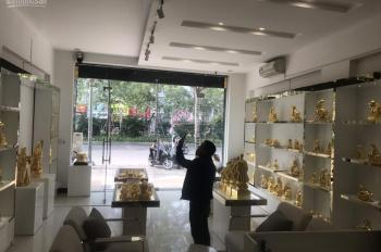 Cho thuê nhà đẹp nhất MP Ô Chợ Dừa 70m2x4 tầng, mặt tiền 6m. LH: O946850055