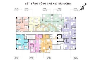 Sở XD tiếp nhận bổ sung hồ sơ mua NOXH NO7 Sài Đồng Long Biên giá chỉ 13.7tr/m2,  LH: 0962.688.633