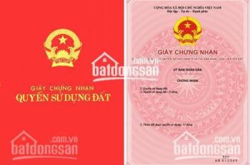 Chính chủ bán đất MP Dương Đình Nghệ, Nguyễn Văn Huyên kéo dài DT: 107m2 MT 5,7m đẹp, 0987689138