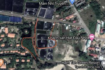 Cần bán đất MT Hùng Vương La Gi, Bình Thuận, sát đất Lành, DT hơn 1.5 ha, MT 85m, giá 40 tỷ