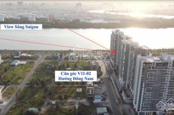 Thu hồi vốn giá như cho đợt 1 căn góc 2PN hướng Đông Nam view sông tầng 11