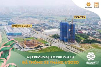Chính chủ bán căn hộ 3PN, diện tích 85,06m2 hướng TN chung cư Bea Sky Nguyễn Xiển, Hoàng Mai