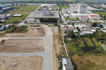 Đất thổ cư giá cực rẻ ngay Đường Nguyễn Trung Trực, huyện Bến Lức, 90m2 giá: 780 tr. SHR từng nền