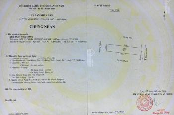 Bán lô đất 99m2 tại thôn Hoàng Mai - xã Đồng Thái - huyện An Dương - HP, hướng Đông