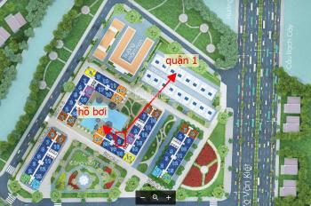 Cần bán căn hộ view hồ bơi và quận 1 hướng đông dự án City Gate 2 giá 1,970 tỷ. LH: 0901 736 783